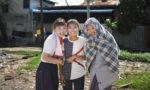 スラム「パター」の子どもたちと記念撮影