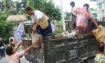 PHD研修生が始めた村の清掃活動に参加