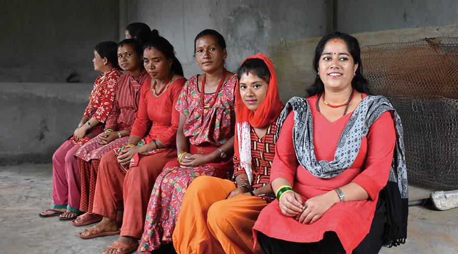 ダリット(被差別カースト)の女性グループ「Haravara」