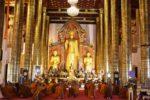 チェンマイの寺院を見学